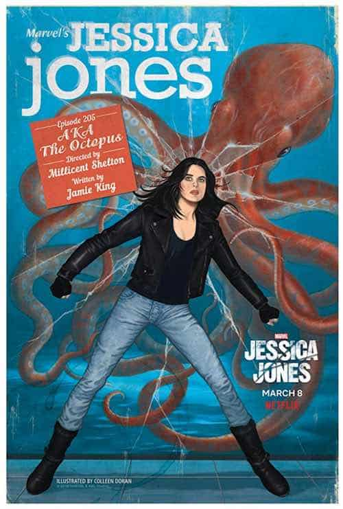 Jessica Jones poster for episode 5 AKA The Octopus