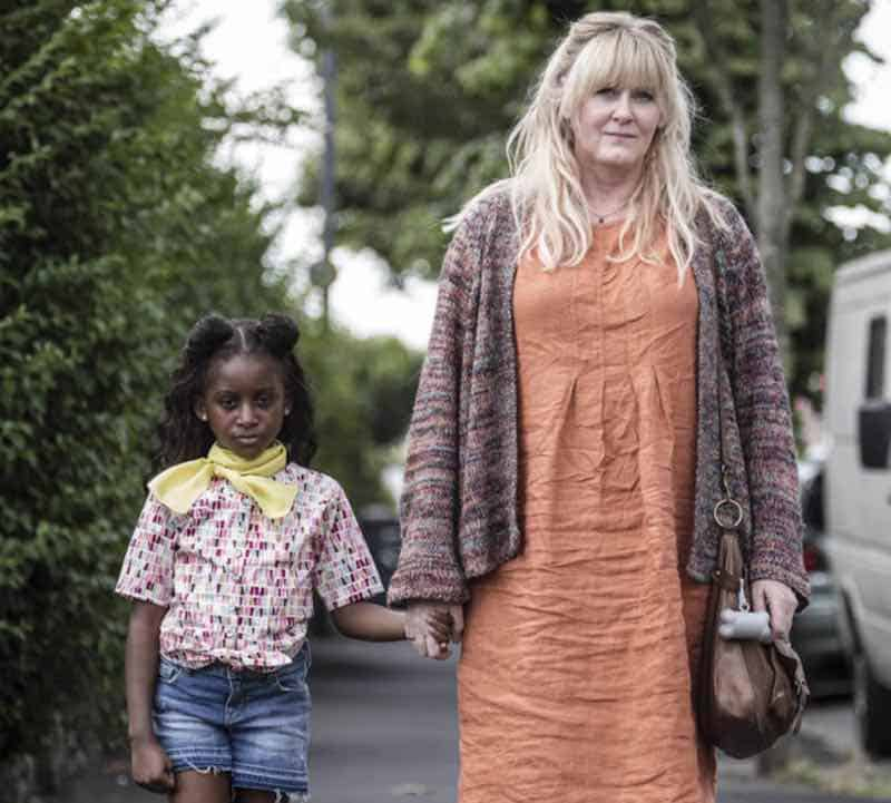 Felicia Mukasa and Sarah Lancashire in Kiri