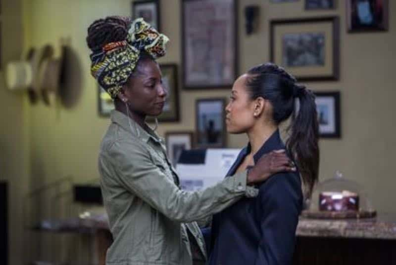 Rutina Wesley and Dawn-Lyen Gardner in Queen Sugar