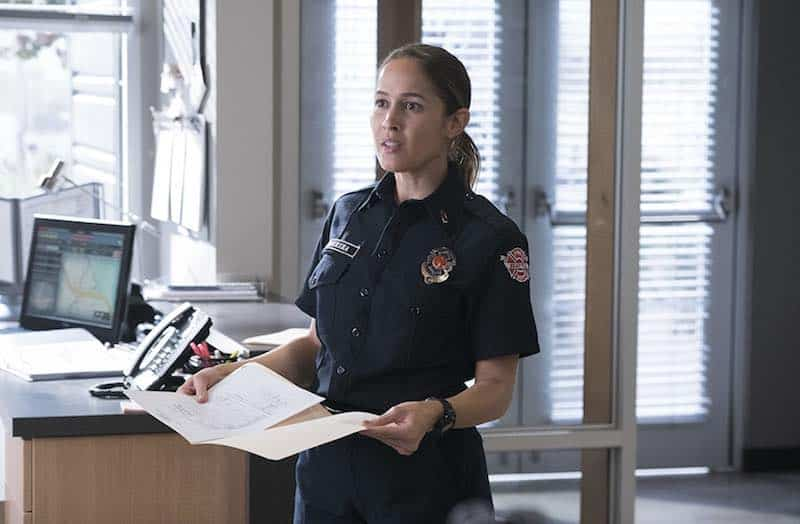Jaina Lee Ortiz in Station 19