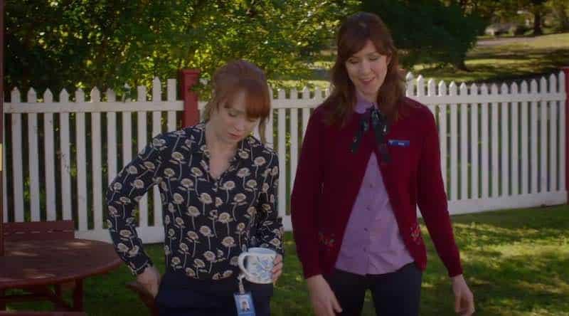 Hayley McElhinney and Belinda Bromilow in The Heart Guy (Doctor, Doctor)
