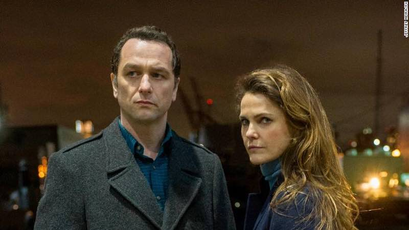 Matthew Rhys and Keri Russell in 'The Americans'