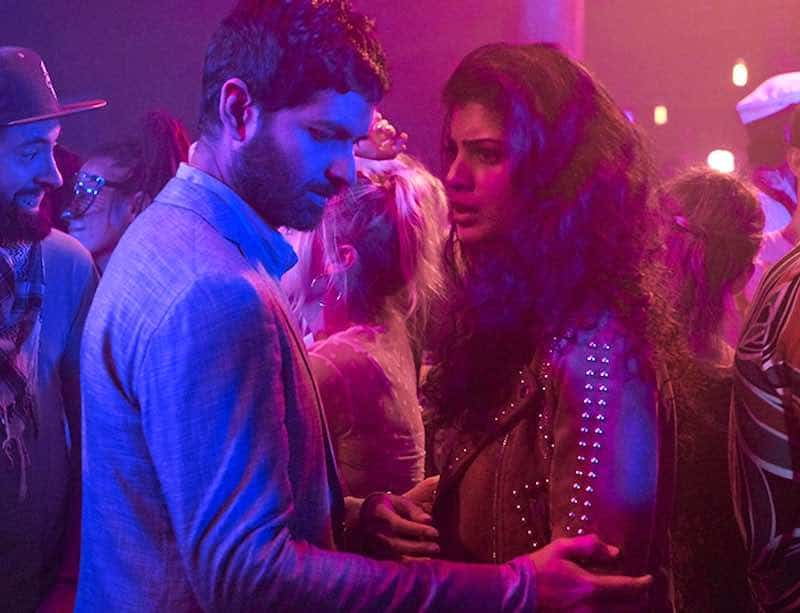 Purab Kohli and Tina Desai in Sense 8