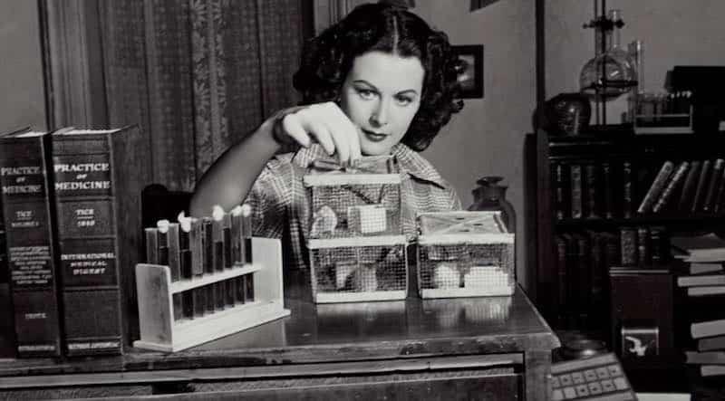 Hedy Lamarr in Bombshell: The Hedy Lamarr Story