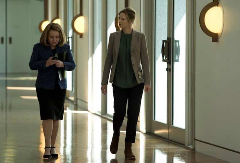 Jacki Weaver and Anna Torv in Secret City