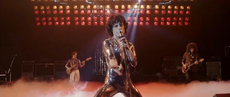 Joseph Mazzello, Rami Malek, and Gwilym Lee in Bohemian Rhapsody