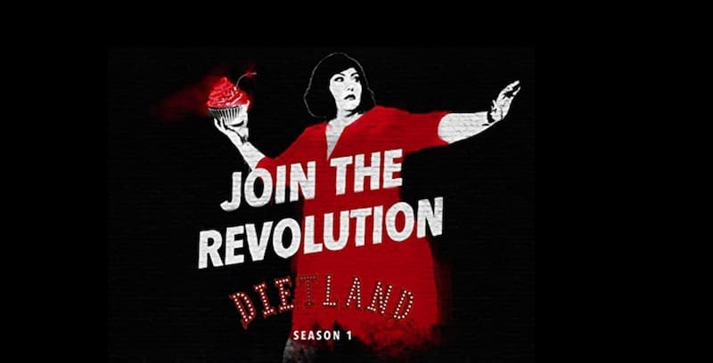 Joy Nash on the Dietland season 1 poster