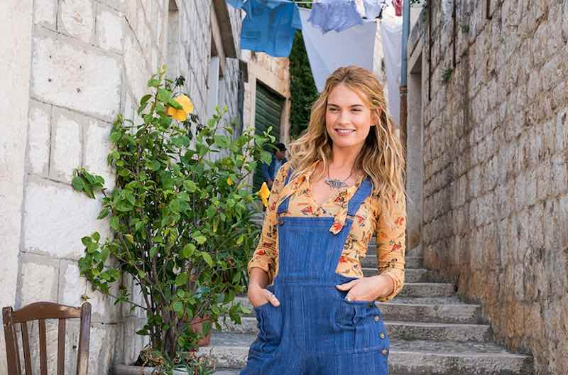 Lily James in Mamma Mia! Here We Go Again
