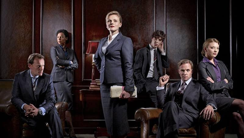 Maxine Peake, Rupert Penry-Jones, Nina Sosanya, Neil Stuke, Natalie Dormer, and Tom Hughes in Silk