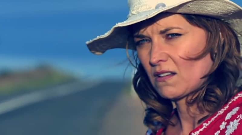 Lucy Lawless in The Code