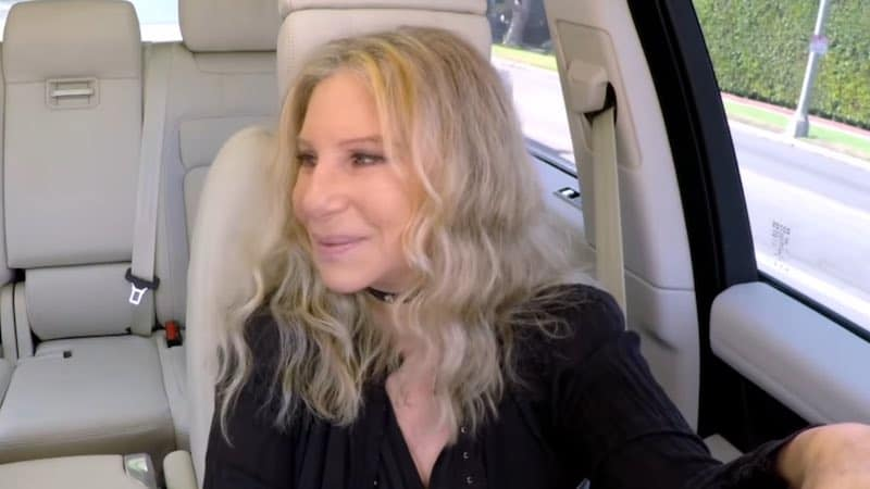 Carpool Karaoke with Barbra Streisand – Imagine That