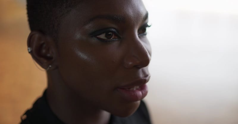 Michaela Coel in Black Earth Rising
