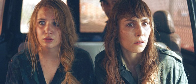 Noomi Rapace and Sophie Nélisse in Close