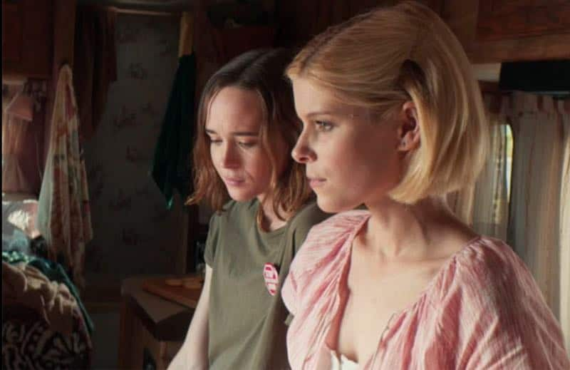 Ellen Page and Kate Mara in My Days of Mercy