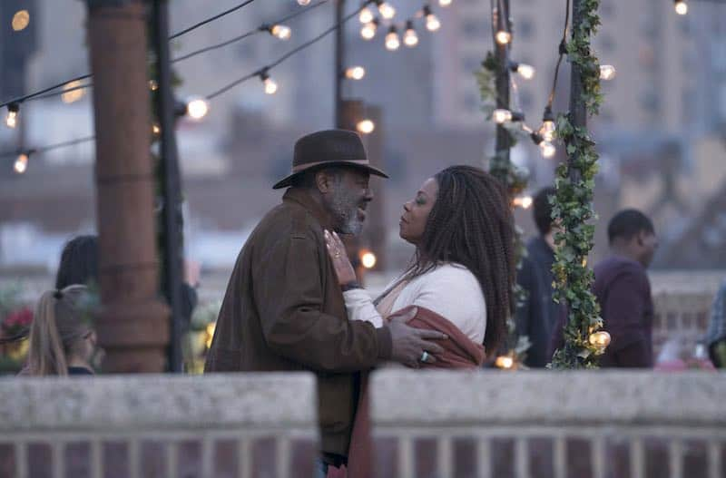 Lorraine Toussaint and Frankie Faison in The Village