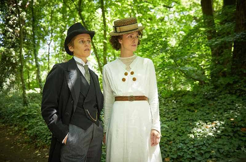 Denise Gough and Keira Knightley in Colette