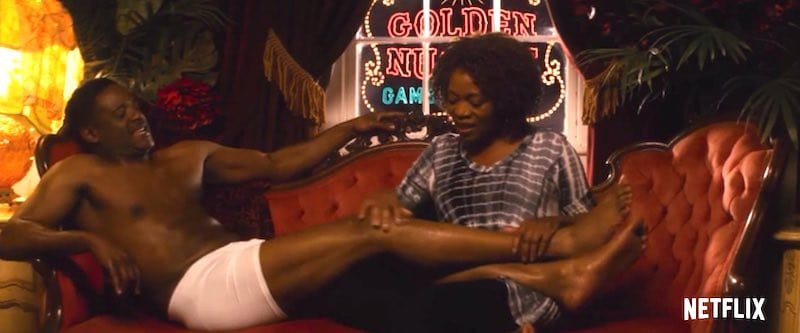 Blair Underwood and Alfre Woodard in Juanita