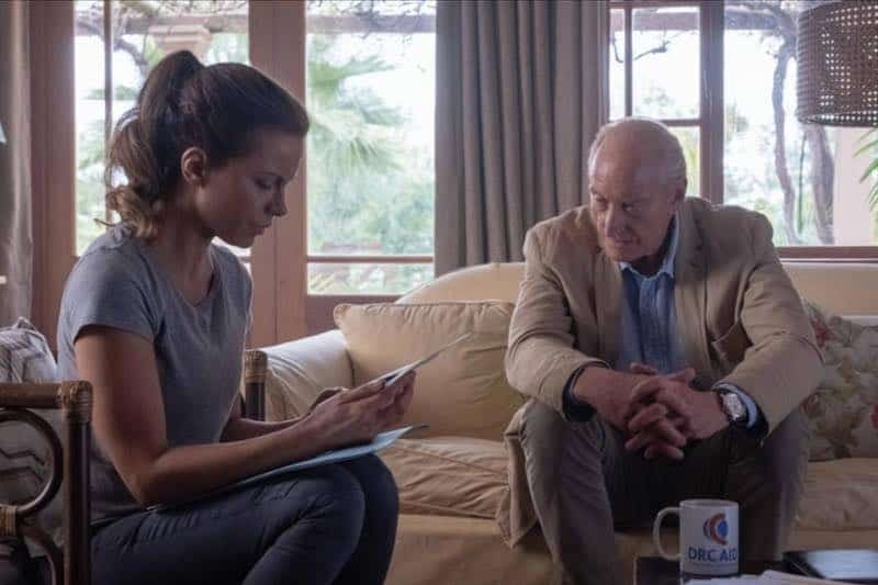 Kate Beckinsale and Charles Dance in The Widow