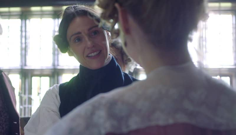 Suranne Jones and Sophie Rundle in Gentleman Jack