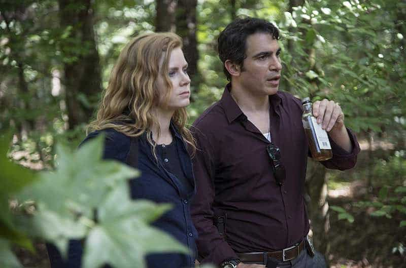 Amy Adams and Chris Messina in Sharp Objects