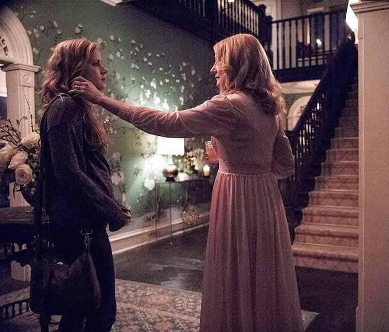 Amy Adams and Patricia Clarkson in Sharp Objects
