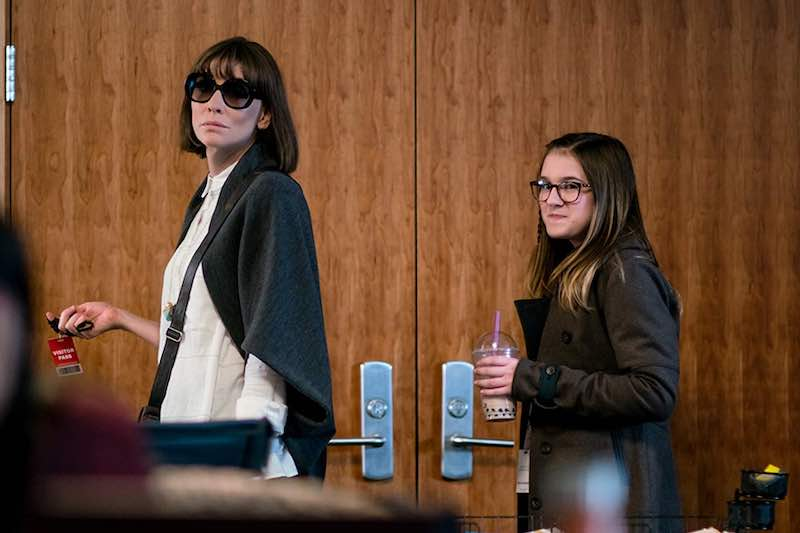 Cate Blanchett and Emma Nelson in Where'd You Go, Bernadette