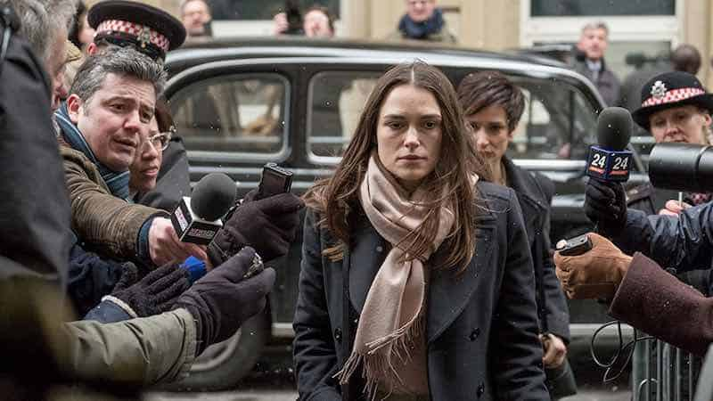 Keira Knightley in Official Secrets