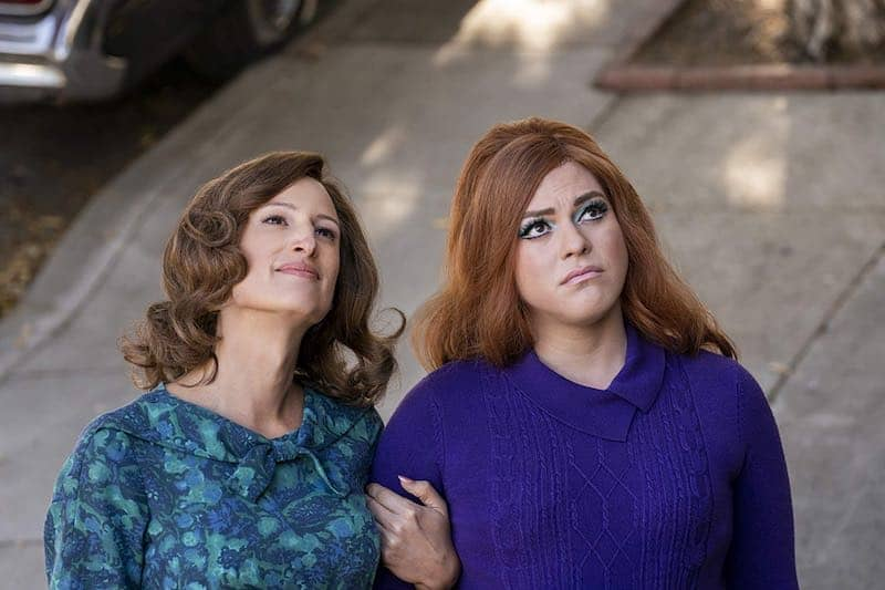 Daniela Vega and Jen Richards in Tales of the City