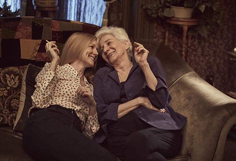 Laura Linney and Olympia Dukakis in tales of the city