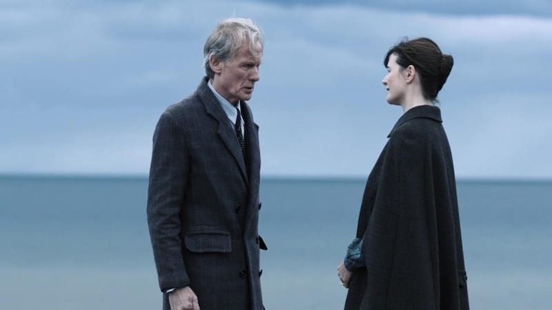 Bill Nighy and Emily Mortimer in The Bookshop