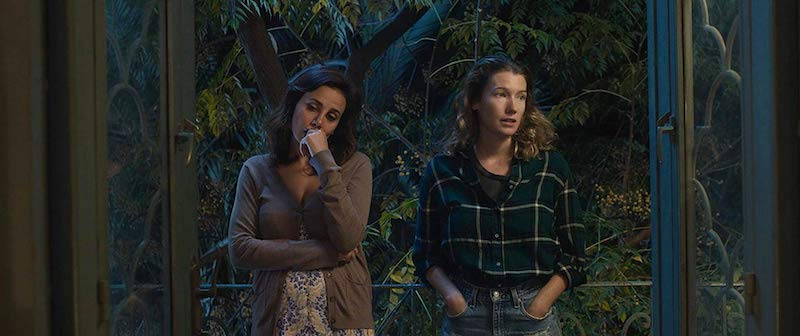 Marwa Khalil and Tess Harrison in Are You Glad I'm Here