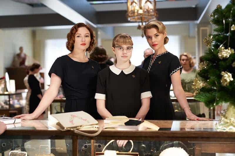 Rachael Taylor, Angourie Rice, and Alison McGirr in Ladies in Black