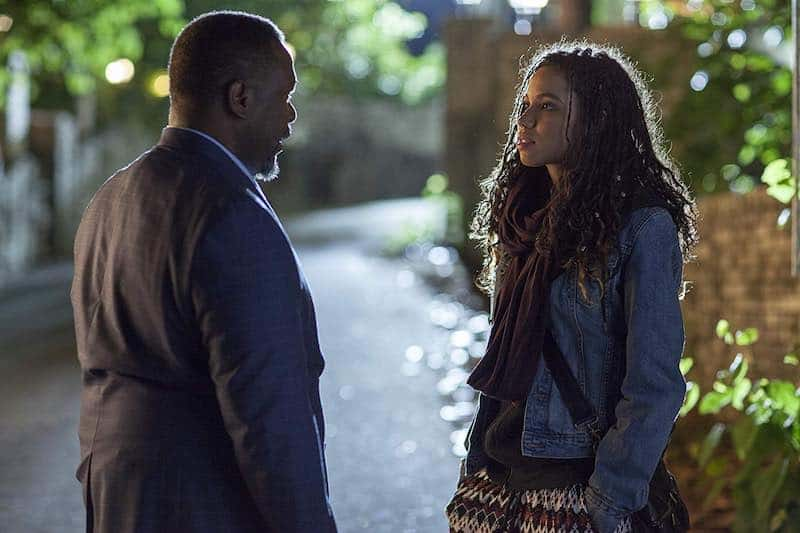 Wendell Pierce and Jurnee Smollett-Bell in One Last Thing