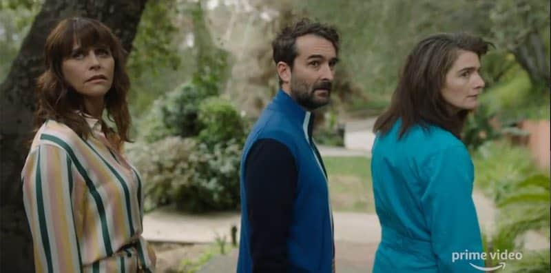 Amy Landecker, Jay Duplass and Gaby Hoffmann in Transparent Musicale Finale