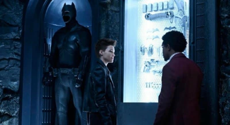 Ruby Rose and Camrus Johnson in Batwoman