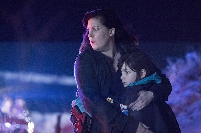 Allison Tolman and Alexa Swinton in Emergence
