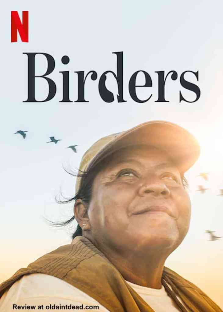 A poster for Birders