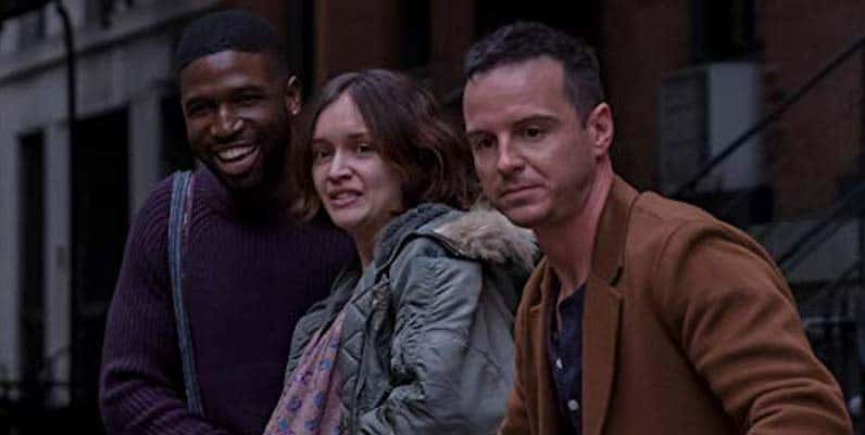 Brandon Kyle Goodman, Olivia Cooke and Andrew Scott in Modern Love