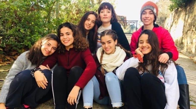 The team in The Hockey Girls (Las de l'hoquei)