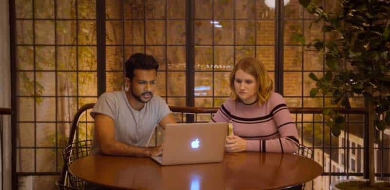 Utkarsh Ambudkar and Jillian Bell in Brittany Runs a Marathon