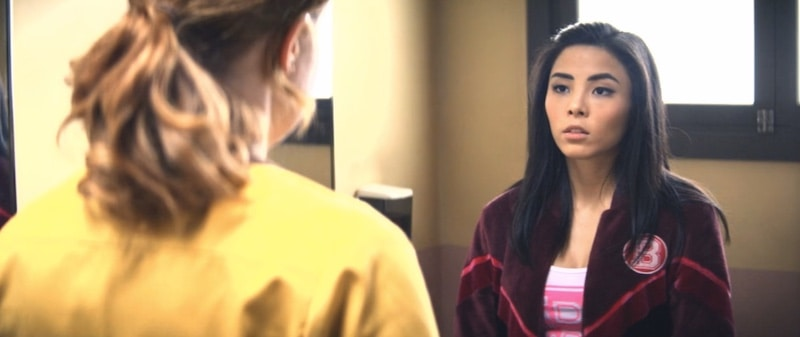 Liv Hewson and Anna Akana in Let it Snow