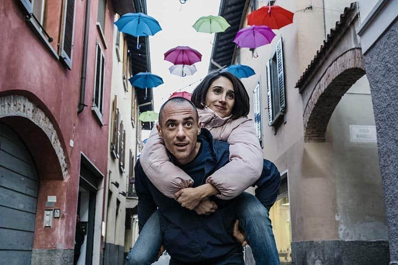 Elio Germano and Silvia D'Amico in The Man Without Gravity (L'uomo senza gravità)