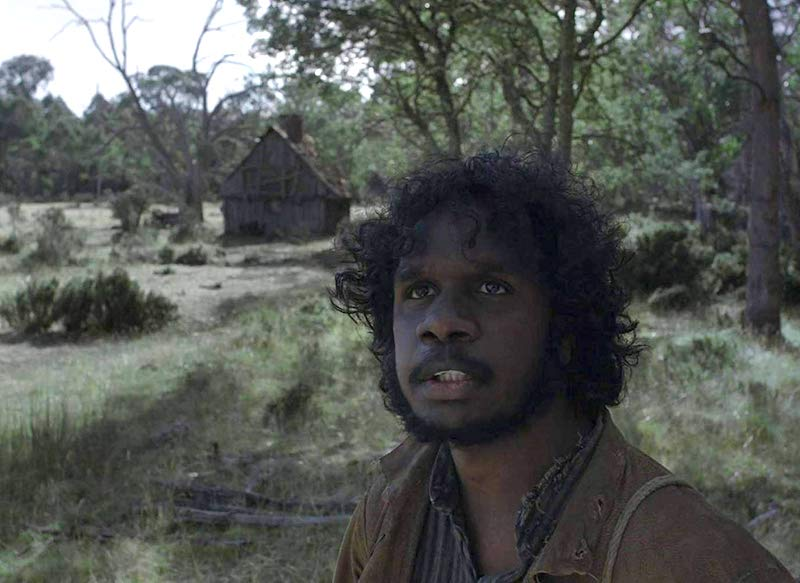 Baykali Ganambarr in The Nightingale