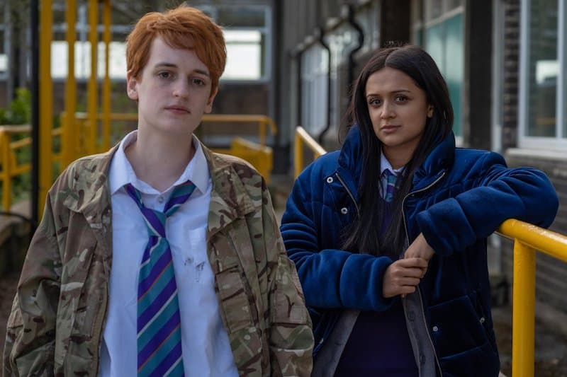 Megan Parkinson and Amy-Leigh Hickman in Ackley Bridge