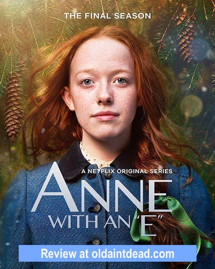 Season 3 poster for Anne with an E