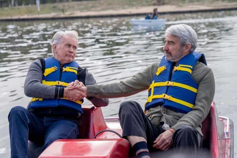 Martin Sheen and Sam Waterston in Grace and Frankie