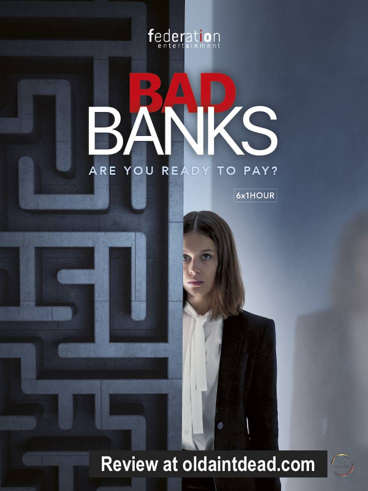 The poster for bad banks