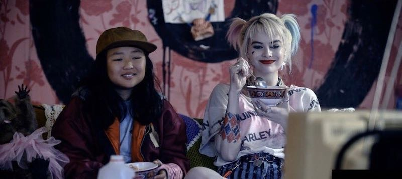 Margot Robbie and Ella Jay Basco in Birds of Prey: And the Fantabulous Emancipation of One Harley Quinn