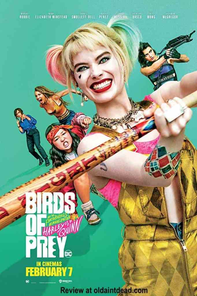 A poster for Birds of Prey