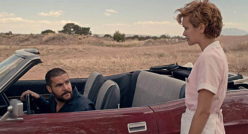 Christopher Abbott and Olivia Cooke in Katie Says Goodbye